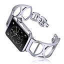 Χαμηλού Κόστους Θήκες για ρολόγια Apple-Παρακολουθήστε Band για Apple Watch Series 4/3/2/1 Apple Μοντέρνο Κούμπωμα Μέταλλο Λουράκι Καρπού