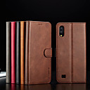 cheap Galaxy A Series Cases / Covers-Case For Samsung Galaxy Galaxy A10(2019) Wallet / Card Holder / Flip Full Body Cases Solid Colored Hard PU Leather / TPU for A6 (2018) / A6+ (2018) / Galaxy A7(2018)