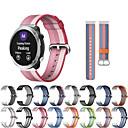 halpa Kellonrannekkeet Garmin-Watch Band varten vivomove / vivomove HR / Vivoactive 3 Garmin Urheiluhihna Kangas / Nylon Rannehihna