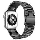 Χαμηλού Κόστους Μπρασελέ για ρολόγια Apple-Παρακολουθήστε Band για Apple Watch Series 4/3/2/1 Apple Μοντέρνο Κούμπωμα Μέταλλο / Ανοξείδωτο Ατσάλι Λουράκι Καρπού