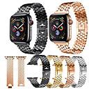 voordelige Apple Watch-bandjes-Horlogeband voor Apple Watch Series 4/3/2/1 Apple Moderne gesp Roestvrij staal Polsband