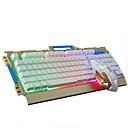 رخيصةأون القلائد-LITBest K33 USB سلكي لوحة مفاتيح الألعاب لوحة المفاتيح الوسائط المتعددة الألعاب مقاومة الماء موضوع لون الخلفية 104 pcs مفاتيح