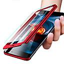 رخيصةأون واقيات شاشات Xiaomi-غطاء من أجل Xiaomi Xiaomi Mi Play / Xiaomi Mi Max 3 / Xiaomi Mi 8 ضد الصدمات / نحيف جداً / مثلج غطاء كامل للجسم لون سادة قاسي الكمبيوتر الشخصي / Xiaomi Mi 6