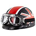ieftine Flori Artificiale-125 de adulți cu fața întreagă unisex motocicleta casca rezistenta la vant / anti-uzură / șoc
