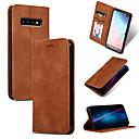 halpa Galaxy S -sarjan kotelot / kuoret-Etui Käyttötarkoitus Samsung Galaxy Note 9 / Note 8 Korttikotelo / Tuella / Flip Suojakuori Yhtenäinen Pehmeä PU-nahka varten Note 9 / Note 8