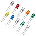 ieftine LED-uri-100pcs Dip Led <5 V Luminos Sare de Cristal Himalaya Cip LED pentru DIY LED lumina de inundații / Panou 1 W
