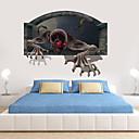 ieftine Lumini de Ceață Mașină-Halloween autocolante decorative de perete - cuvinte&amp. citate autocolante de perete caractere cameră de studiu / birou / sufragerie / bucătărie