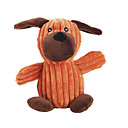 ieftine Jucării Câini-drăguț cățeluș guițat în formă de mestecat jucărie de pluș pentru câini de companie (culoare aleatorii)
