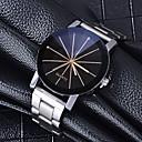 ieftine Ceasuri Bărbați-Bărbați Ceas Elegant Quartz Stil Oficial Oțel inoxidabil Argint Ceas Casual Analog Modă Ceas simplu - Argintiu / negru Un an Durată de Viaţă Baterie
