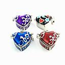 preiswerte Halsketten-Damen Pendant Halskette Medaillon Brosche Schmuck Purpur Blau Dunkelrot Für Alltag