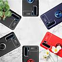 Недорогие Чехлы и кейсы для Galaxy A7-Кейс для Назначение Huawei Huawei Mate 20 lite / Huawei Mate 20 pro / Huawei Mate 20 Защита от удара / Защита от влаги / Покрытие Кейс на заднюю панель Однотонный Твердый ТПУ / Кольца-держатели
