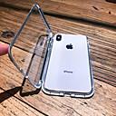 Недорогие Кейсы для iPhone-чехол для яблока iphone xs max / iphone x магнитный / прозрачный чехлы для тела сплошного цвета из твердого металла для iphone 6 / iphone 6 plus / iphone 6s