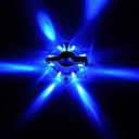 ieftine Motoare & Părți-Lumini de Bicicletă lumini roți Luminile Spoke pentru biciclete LED Ciclism montan Ciclism Rezistent la apă Moduri multiple Foarte luminos buton baterie Baterii Cell Baterie Alb Roșu Albastru / ABS