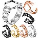 billige Skjermbeskyttere til Smartklokker-Klokkerem til Fitbit Blaze Fitbit Smykkedesign Rustfritt stål Håndleddsrem