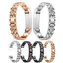 ieftine Brățări-Uita-Band pentru Fitbit Alta HR / Fitbit Alta Fitbit Design Bijuterie Oțel inoxidabil Curea de Încheietură