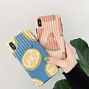 رخيصةأون أغطية أيفون-غطاء من أجل Apple iPhone XS / iPhone XR / iPhone XS Max ضد الغبار / نموذج غطاء خلفي مأكولات / كارتون الكمبيوتر الشخصي