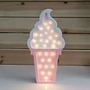 ieftine Lumini Nocturne LED-1 buc LED-uri de lumină de noapte / Nopți de noapte Alb Cald Baterii AA alimentate Creative 5 V