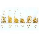 ieftine Ștasuri & Accesorii-100pcs / pachet diy aliaj cadru cadru de unghii 3d 3d design de metal de arta unghii decoratiuni goale flori unghii