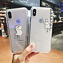 رخيصةأون أغطية أيفون-غطاء من أجل Apple اي فون 11 / iPhone 11 Pro / iPhone 11 Pro Max شفاف / نموذج حقيبة كارتون ناعم البلاستيك