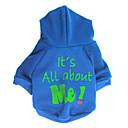 ieftine Imbracaminte & Accesorii Căței-Câini Hanorca Îmbrăcăminte Câini Motto & Zicale Verde Albastru Roz Material Textil Lână Costume Pentru Dalmațian Corgi Beagle Primăvară Vară Unisex Casul / Zilnic stil minimalist