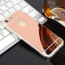 ieftine Carcase iPhone-Maska Pentru Apple iPhone XR / iPhone XS Max / iPhone X Placare / Oglindă Capac Spate Mată Moale TPU