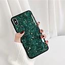 رخيصةأون حافظات / جرابات هواتف جالكسي S-غطاء من أجل Samsung Galaxy S9 / S9 Plus / S8 Plus ضد الغبار / نموذج غطاء خلفي حجر كريم TPU