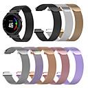 billige Klokkeremmer til Garmin-smartwatch band for forerunner235 / 735 / 735xt garmin milanese loop rustfritt stål band mote håndleddet stropp