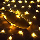 ieftine Ustensile & Gadget-uri de Copt-1 buc bucătărie netă de pescuit în aer liber 3 m șnur lumină 200 lumini led / petrecere galbenă / decorațiune pot fi conectate șir de lumini decorative de 220 volți / european / american / british