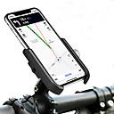 رخيصةأون Cranks-حامل الجوال للدراجة المحمول قابل للسحبقابل للتعديل مكافح الانزلاق إلى دراجة الطريق دراجة جبلية دراجة قابلة للطي Aluminum Alloy iPhone X iPhone XS iPhone XR ركوب الدراجة أسود أسود / أحمر فضي