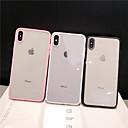 رخيصةأون أغطية أيفون-غطاء من أجل Apple iPhone XS / iPhone XR / iPhone XS Max ضد الغبار / شفاف غطاء خلفي لون سادة الكمبيوتر الشخصي