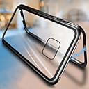 رخيصةأون Huawei أغطية / كفرات-حالة مغناطيسية مغناطيسية لامتصاص الزجاج المعدني لهواوي ميت 20 برو ميت 20 غطاء خلفي لهواوي ميت 20 لايت
