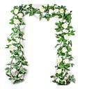 رخيصةأون أزهار اصطناعية-زهور اصطناعية 1 فرع ستايل حديث الزفاف الورود نباتات أزهار الطاولة