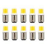 billiga -10pcs 2.5 W LED-lampor med G-sockel 200 lm BA15d 1 LED-pärlor COB Ny Design Varmvit Vit 110/220 V