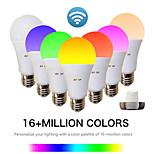 billiga -EXUP® 1st 9 W Smart LED-lampa 810 lm E26 / E27 A60(A19) 34 LED-pärlor SMD 2835 APP Control Smart Timing RGB & CW 85-265 V