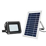billiga -1st 15 W LED-strålkastare / Lawn Lights / Vägglampor för Utomhusbruk Vattentät / Sol / Ljusstyrning Varm Vit + Vit 3.7 V Utomhusbelysning / Gård / Trädgård 54 LED-pärlor