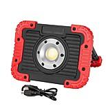 billiga -1st 10 W LED-strålkastare Vattentät Vit 3.7 V Utomhusbelysning 10 LED-pärlor