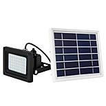 billiga -1st 10 W LED-strålkastare / Lawn Lights / Vägglampor för Utomhusbruk Vattentät / Sol / Dekorativ Varmvit / Vit 3.7 V Utomhusbelysning / Gård / Trädgård 54 LED-pärlor