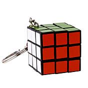 매직 큐브 장난감 키 체인 큐트 미니 조각 남아 여아 선물