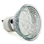 1.5 W 60-80 lm GU10 LED-spotpærer MR16 18 leds Høyeffekts-LED Varm hvit AC 220-240V