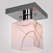 SL® Montage de Flujo Luz Ambiente - Mini Estilo, 110-120V / 220-240V Bombilla no incluida / 5-10㎡ / E26 / E27