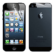 Protector de pantalla Apple para iPhone 6s iPhone 6 iPhone SE/5s 1 pieza Protector de Pantalla Posterior y Frontal Mate