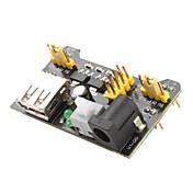 3.3V-5V strømforsyning modul for MB102 Elektronikk eksperiment plate (svart)