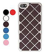 용 아이폰5케이스 도금 케이스 뒷면 커버 케이스 기하학 패턴 하드 알루미늄 iPhone SE/5s/5