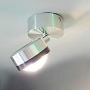 Moderno/Contemporáneo Para Metal Luz de pared 90-240V 1W