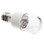 0.5W 50-150lm E14 LED-lysestakepærer 7 LED perler Dyp Led Dekorativ Varm hvit 220-240V
