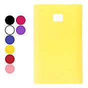 LG E400 (옵티머스 L3) (선택적인 색깔)를위한 플라스틱 재질 방어적인 단단한 케이스