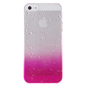 Funda Para iPhone 5 Apple Funda iPhone 5 Transparente Diseños Funda Trasera Gradiente de Color Dura ordenador personal para iPhone SE /