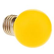 60 lm E26/E27 LED-globepærer 12 leds Varm hvit AC 220-240V