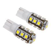 2pcs T10 Bil Elpærer SMD 3528 50-80 lm interiør Lights For Universell