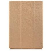 Funda Para iPad Air con Soporte Origami Funda de Cuerpo Entero Color sólido piel genuina para iPad Air